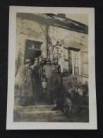 ARCY-le-PONSART (env. De FISMES, Marne) - Popote Du 82e REGIMENT D´INFANTERIE - Photo Originale - Guerre 1914-18 - WW1 - Photography