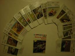 Jeux De Cartes De Famille, Motos De Course - Autres Collections