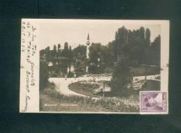 Carte Photo - Roumanie - Bucuresti - Parcul Carol ( Mosquée Exp. Dr Ion Totu Journaliste ) - Roumanie