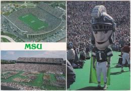 CPM - Multi Vues - Spartan Satdium - Michigan Sate University - East Lansing - Michigan - Football Season... - Lansing