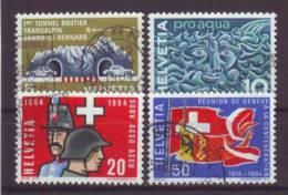 SCHWEIZ - 1963 - MiNr. 791-794 - Gestempelt - Switzerland