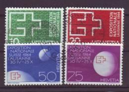 SCHWEIZ - 1963 - MiNr. 782-785 - Gestempelt - Switzerland