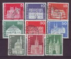 SCHWEIZ - 1968 - MiNr. 878-886 - Gestempelt - Switzerland