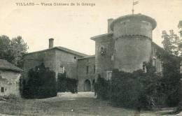 CPA 01 VILLARS VIEUX CHÂTEAU DE LA GRANGE 1917 - Villars-les-Dombes