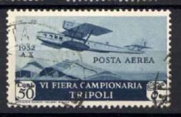 Libia 1932 Sass.A4 Usato/Used VF/F - Libya