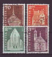 SCHWEIZ - 1967 - MiNr. 862-865 - Gestempelt - Switzerland