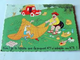 Carte Postale Ancienne : DUBOUT : Non ! Je Te Répète Que Le Piquet N°1 .... - Dubout