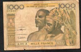 1000F BCEAO A Signature 8 - Billets