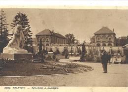 BELFORT--SQUARE J-JAURES--ECRITE LE 5 SEPT 1931-- - Belfort - Città