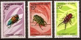 CONGO: Insectes. Yvert 272/74 ** DENTELE (imperf) MNH - Non Classés