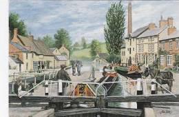 GRAND UNION CANAL - STOKE BRUERNE - Northamptonshire
