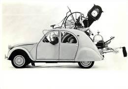 Voiture 2CV Citroën  1961  Humour Déménagement     N° 1750 - Voitures De Tourisme