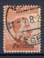 Egeo Patmos 1912 Sass.9 Usato/Used VF/F - Egée (Patmo)