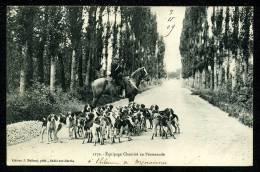 72 - CHEMIRÉ - RARE - Chasse à Courre - Équipage Chemiré - BELLE ANIMATION - France
