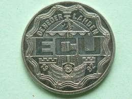 2 1/2 ECU - 1992 / DE NEDERLANDEN / Koning Willem I ( Zilverkleurig / Details, Zie Foto ) ! - Netherland