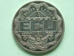 2 1/2 ECU - 1992 / DE NEDERLANDEN / Koning Willem I ( Zilverkleurig / Details, Zie Foto ) ! - Nederland