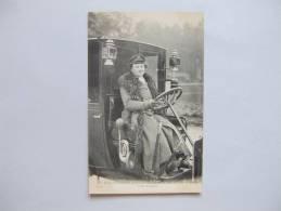 T6) LES FEMMES COCHER MADAME DECOURCELLE AUTOMOBILIA PARIS NOUVEAU 2332 - Taxis & Fiacres