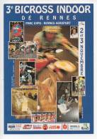 Ref 114 CPM Type Cart'com Carte à Pub SPORT BICROSS INDOOR DE RENNES - Cartes Postales
