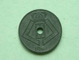 1941 VL/FR - 5 CENT - Morin 498 ( For Grade, Please See Photo ) ! - 1934-1945: Leopoldo III