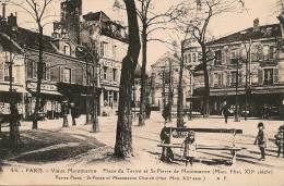 Cpa Paris18 Place Du Tertre - Distretto: 18