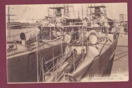 BATEAU GUERRE - 260413 - LES SABLES D'OLONNE - Deux Torpilleurs De L'Escadre - BL BELIER  C CATAPULTE - Krieg