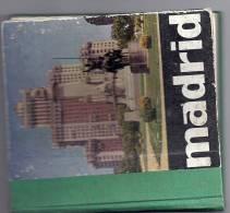 MADRID  VISITE DE LA VILLE AVEC PHOTOS N ET B. 1959.en Français;anglais;espagnol;allemand - Other