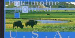 Nations Unies Genève - Carnet Patrimoine Mondial USA - Carnets