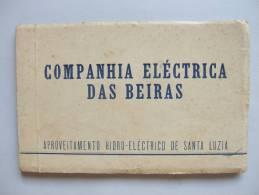 CP1) CADERNETA 14 POSTAIS COMPANHIA ELECTRICA DAS BEIRAS SANTA LUZIA PORTUGAL ED. NEOGRAVURA - Portugal