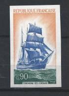 France 1972 N°1717** MNH NON DENTELE Cote 22 Euro BATEAU - Non Dentellati