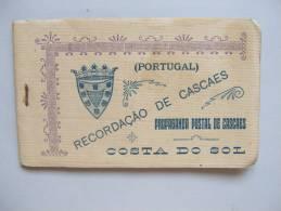 CP2) CADERNETA 10 POSTAIS CASCAIS CASCAES PROPAGANDA POSTAL COSTA DO SOL PORTUGAL - Portugal