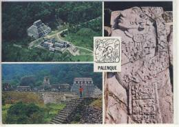 MEXICO -  Ruinas de PALENQUE,  Chiapas    1982