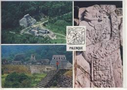MEXICO -  Ruinas De PALENQUE,  Chiapas    1982 - México