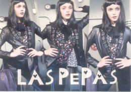 LAS PEPAS - MODE MODA ARGENTINA FASHION TBE CARTE PUBLICITAIRE - Mode