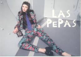 LAS PEPAS - MODE MODA ARGENTINA FASHION TBE CARTE PUBLICITAIRE AÑO 2013 - Mode