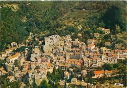 CPM - 06 - ROQUEBRUNE-Village - Le Vieux Village Et Le Château (Combier, Macon, E 06.104.94.3.0491) - Roquebrune-Cap-Martin