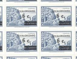 AÑO 1975 ARGENTINA SERIE BASICA CATAMARCA CUESTA DE ZAPATA REVALORIZADA CON SOBRECARGA SURCHARGE MNH TBE - Argentina