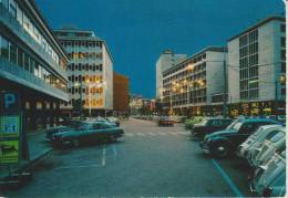 PADOVA--LARGO EUROPA--NOTTURNO--AUTO--FIAT--FINA--AGIP--BANCO NAPOLI--FG--V 20-7-72 - Padova