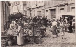 BERNAY -  Le Marché Aux Légumes (beau Plan) - Bernay
