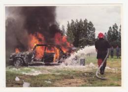 LES SAPEURS-POMPIERS - ST-LYPHARD - CPM - 29/5/1988 - 90ème CONGRES DEPARTEMENTAL DES SAPEURS-POMPIERS DE LOIRE-........ - Saint-Lyphard