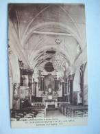 Ma Réf: 44-19-18.              SAINT-MARTIN-VESUBIE     Intérieur De L'Eglise. - Saint-Martin-Vésubie