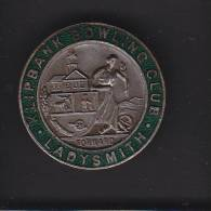 KLIPBANK BOWLING CLUB,  LADYSMITH, SOUTH AFRICA, Lapel Badge, - Pétanque