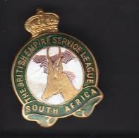 BRITISH EMPIRE SERVICE LEAGUE SOUTH AFRICA, Lapel Badge - Associations