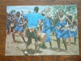 WAKAMBA Dancers / Anno 19?? ( Zie Foto Voor Details ) !! - Kenya