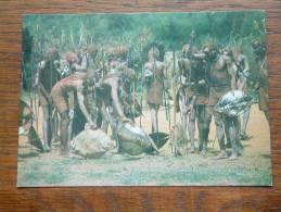 MASAI Warriors / Anno 19?? ( Zie Foto Voor Details ) !! - Kenya