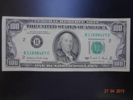 USA 1988 100 Dollars Very Good Condition - Cyprus