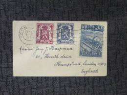 BELGIUM 1940'S ? COVER TO UK - Covers & Documents