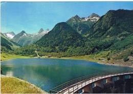 """France:65.hautes Pyrenees.""""les Hautes Pyrenees.vallee D'arrens Le Barrage Et Le Lac Du Tech"""" - France"""