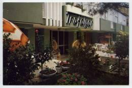 Italie--RIVAZZURA DI RIMINI--Hotel Trafalgar--carte Publicitaire De L'Hotel-- - Rimini