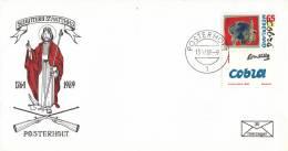 Nederland - Roerzegelenveloppe 30 - 225 Jaar Schutterij St. Matthias - Posterholt 13 Mei 1989 - Oplage 800/463 - Postal History