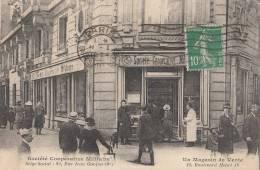 PARIS IV   Bd Henri IV  Sté Coopérative MILITAIRE  Magasin De Vente Animation ( Siège Rue Jean Goujon 8° ) - Arrondissement: 04